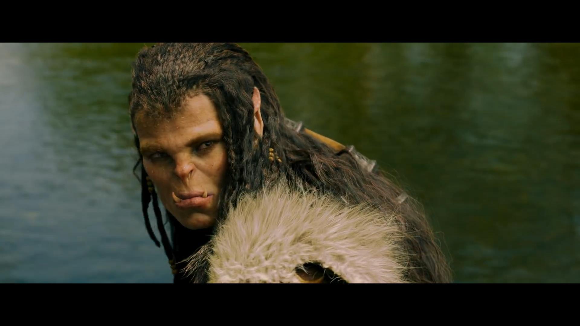 Capture d'écran du film Warcraft: Le Commencement.
