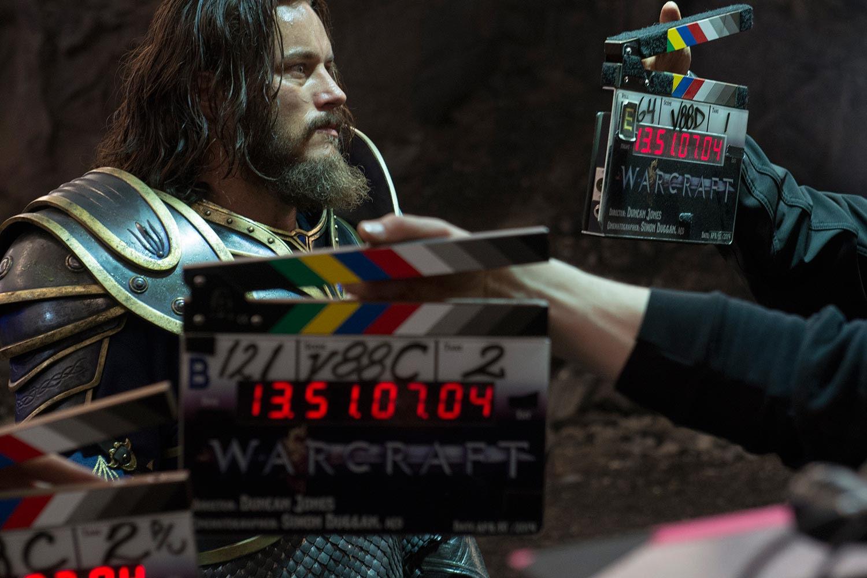 Film Warcraft - Le tournage