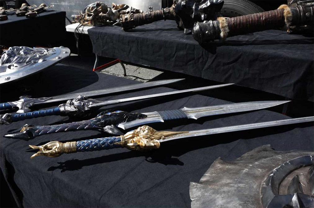 Photo du tournage de Warcraft: Le Commencement.