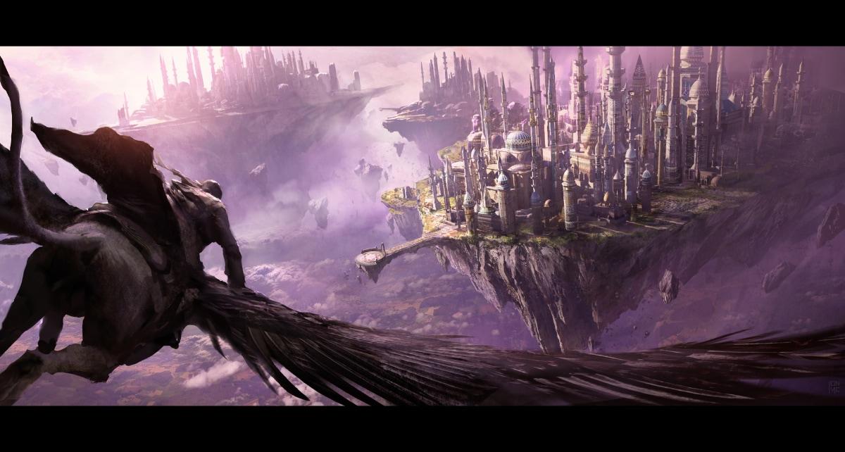 Concept Art pour le film Warcraft: Le Commencement.