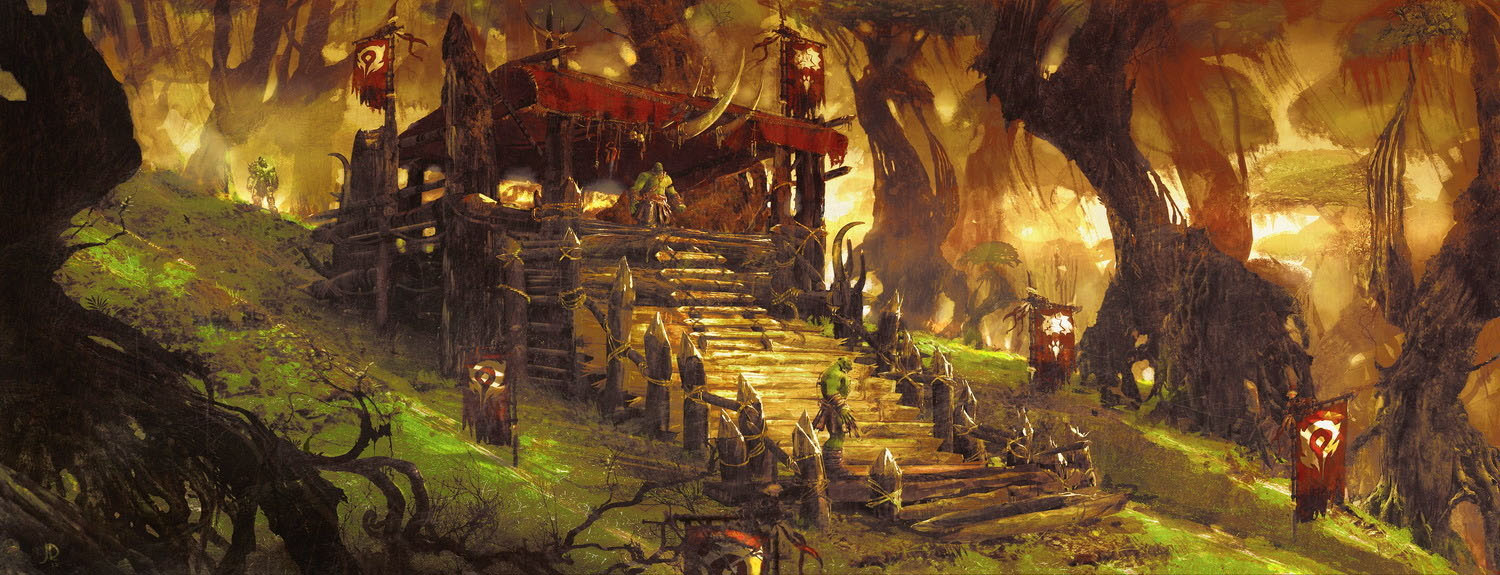 Concept art de Warcraft: Le Commencement