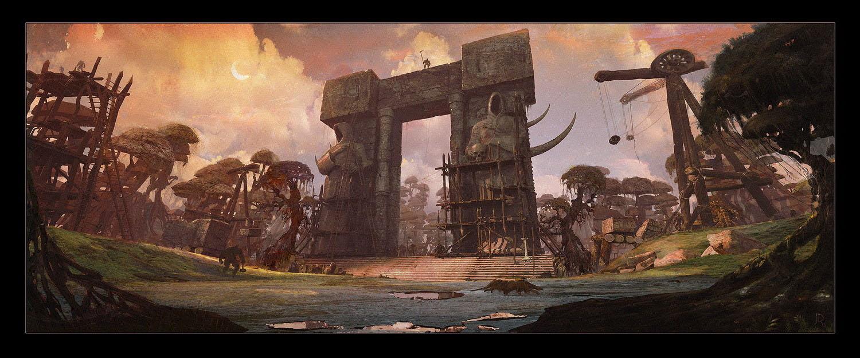 Concept art de Warcraft: Le Commencement