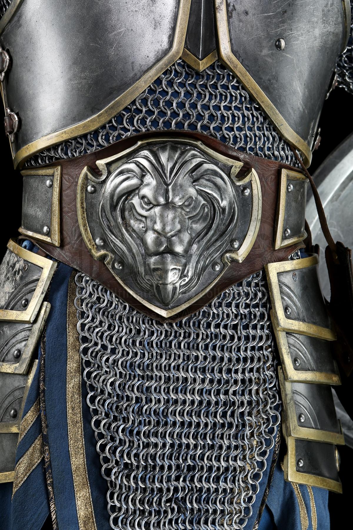 Objet du film Warcraft mis aux enchères du 14 au 25 mai 2018.