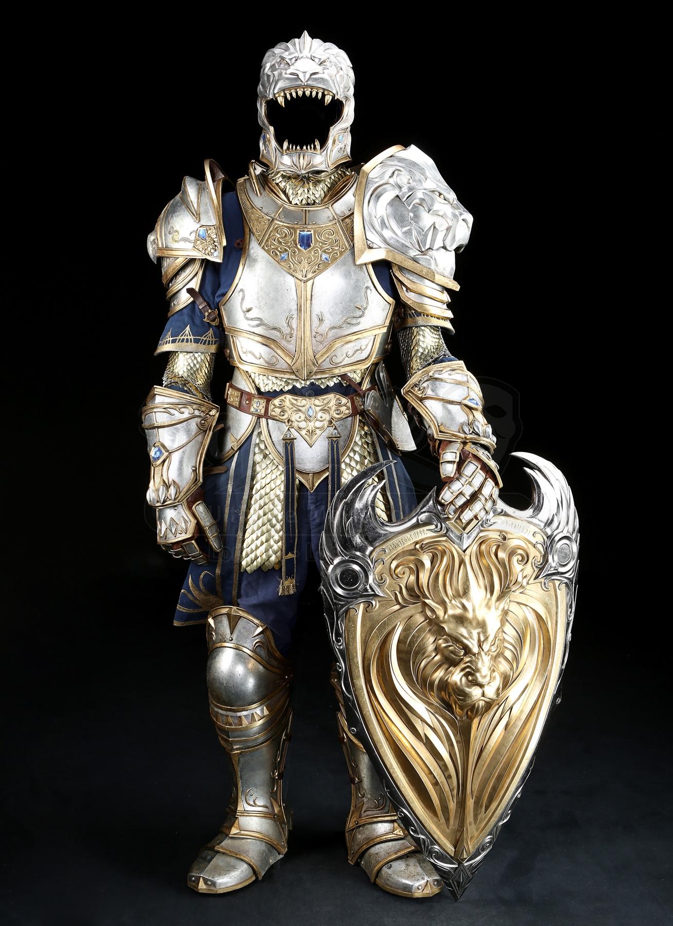 Objet du film Warcraft vendu aux enchères chez Prop Store entre le 15 et le 25 mai 2018.