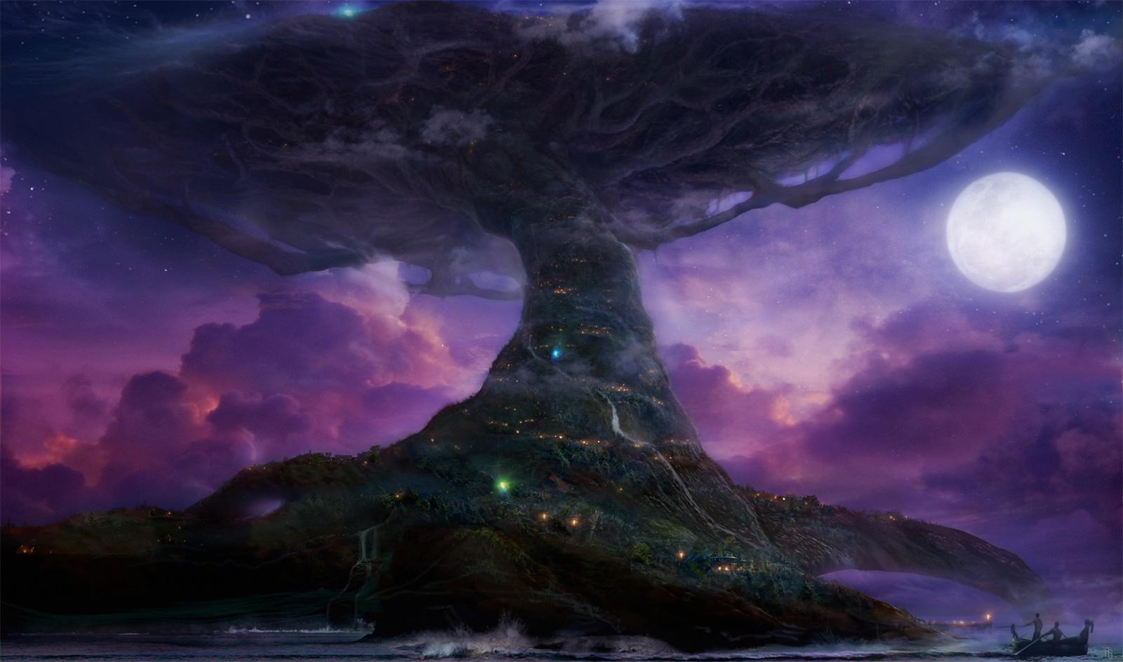 Concept art du film Warcraft.  Août 2007.