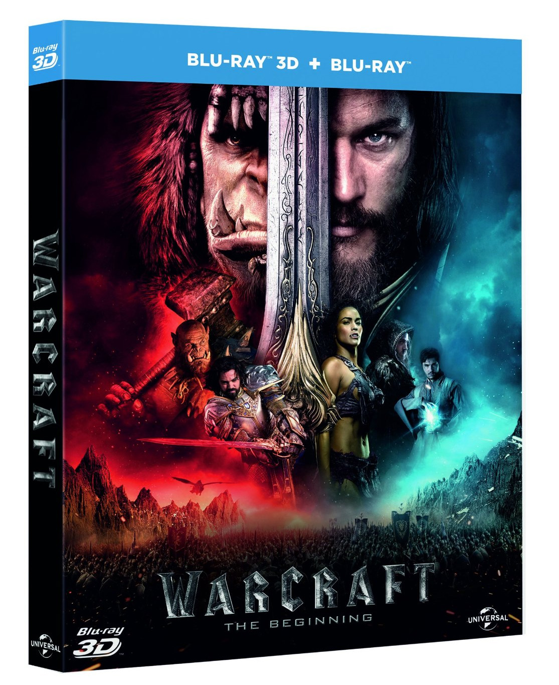 Warcraft : Le Commencement en Blu-ray 3D.