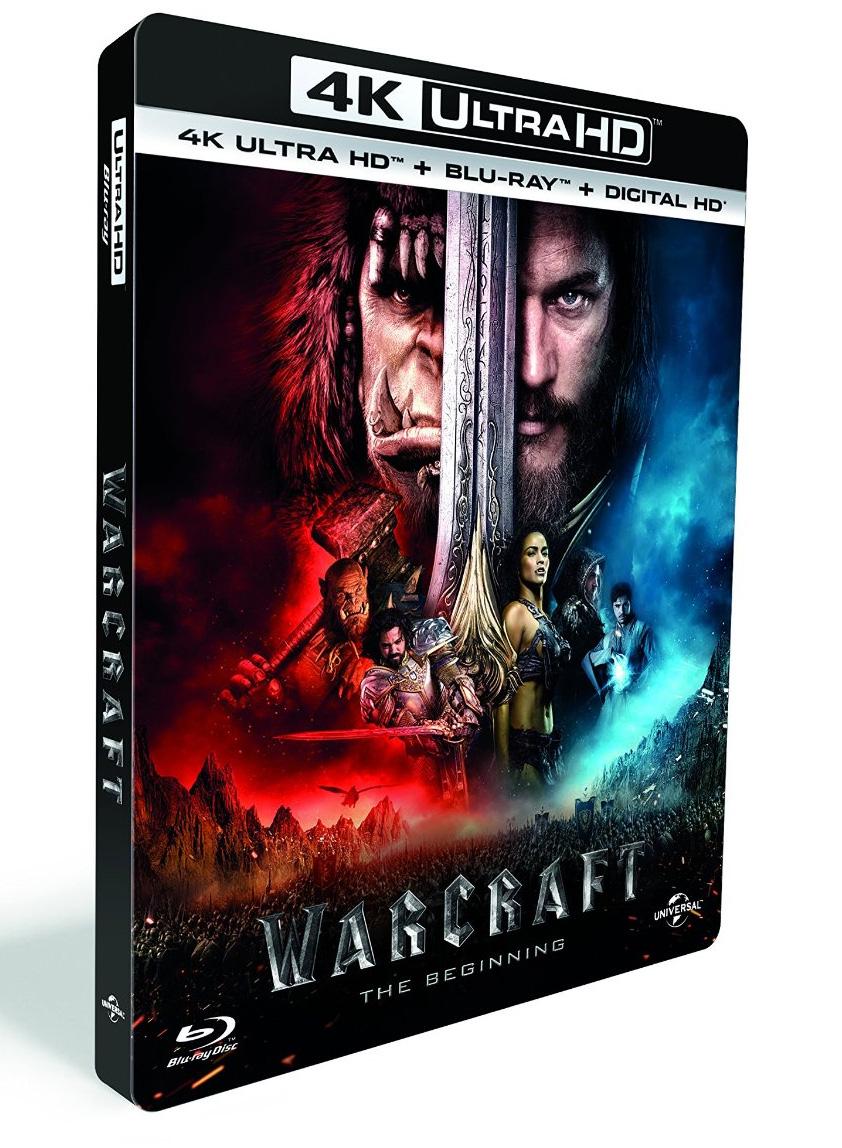 Warcraft : Le Commencement en Blu-ray 4K.