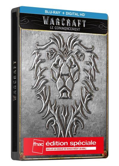 Warcraft: Le Commencement en version Blu-ray Spéciale Fnac.