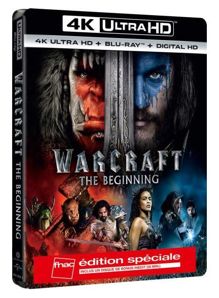 Warcraft: Le Commencement en version 4K Spéciale Fnac.