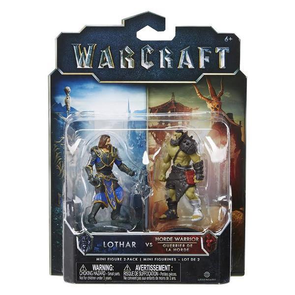 Lothar vs Horde warrior.